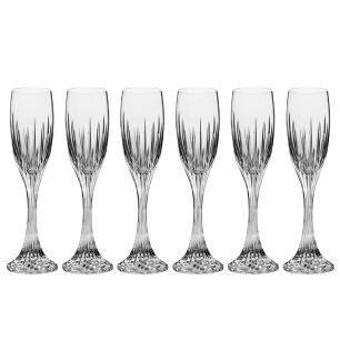 Jogo de 6 Taças em Cristal Strauss Champagne 150ml - 210.607.020