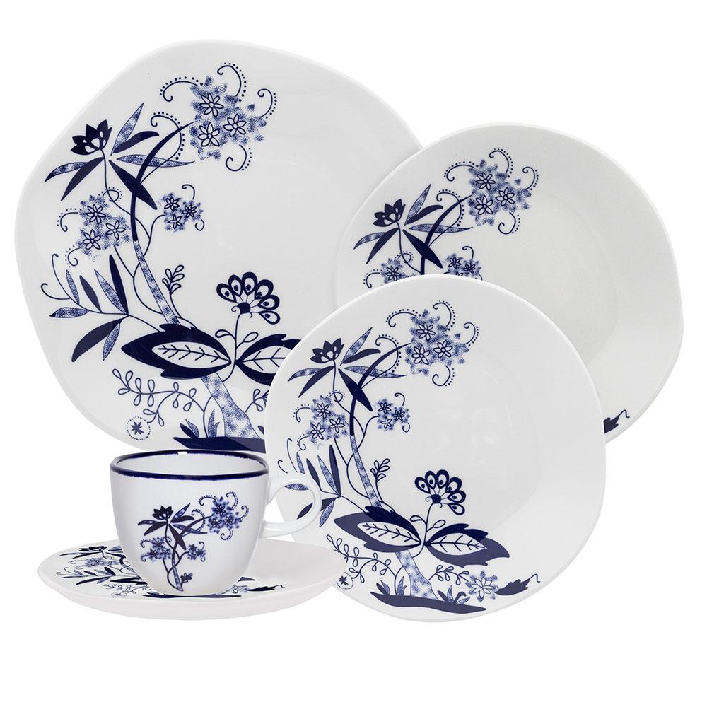 Aparelho de Jantar E Chá 20 Peças Ryo Union