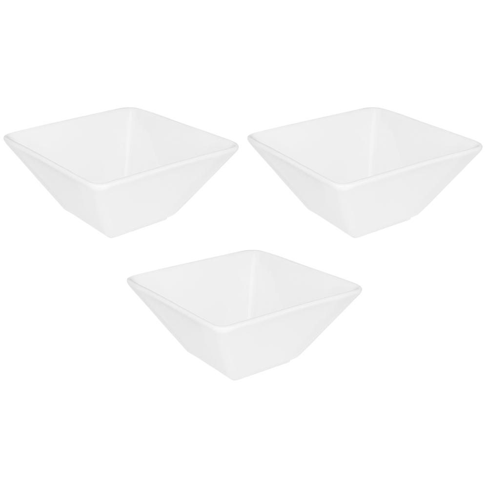 Conjunto de 3 Tigelas Quartier Pequena 14,5cm 600ml-White
