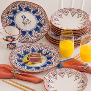 Aparelho de Jantar E Chá 20 Peças Ryo Barcelos