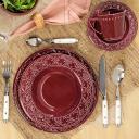 Aparelho de Jantar E Chá 20 Peças Mendi Corvina