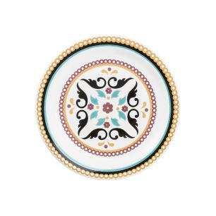 Conjunto de 6 Pratos Sobremesa 20cm Floreal Luiza