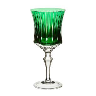 Taça de Cristal Strauss Vinho Tinto 360ml - Verde Escuro - 119.102.150.014