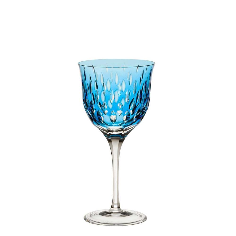 Taça de Cristal Strauss Vinho Branco 330ml - Azul Claro - 225.103.152.016