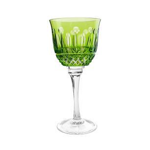 Taça de Cristal Strauss Vinho Tinto 370ml - Verde Claro - 225.102.069.011