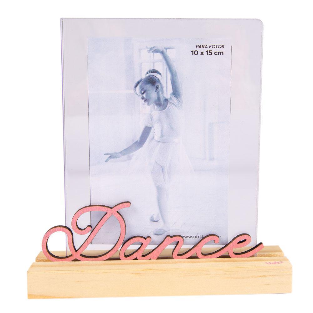 Porta Retrato Palavra - Dance