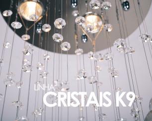 Lustre Pendente de Cristal Original K9 160cm