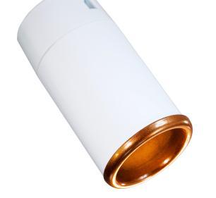 Trilho Eletrificado 2 m com 4 Spots Soq: GU10 | COR: Branco com Cobre | Spot: Led 7W 2.700k Branco Quente| Tam: 2 mt | Mod: Z4
