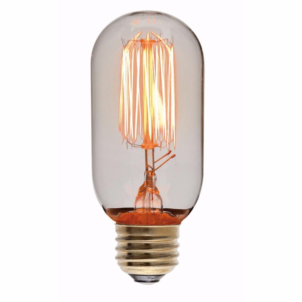 Lâmpada de Filamento de Carbono LED Mod: T45 4W Retrô