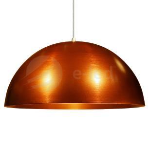 Pendente Meia Lua Bronze - Soq: E27 / Tam: 30x15cm