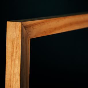 Cadeira Estilo Poltrona Toda de Madeira   Mod: Alf  Cor: Pinus