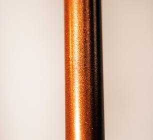 Abajur de Chão Tubeto | Cúpula bege 35cm | Soq: E27 | Cor: Preto | Tam: 150cm | Mod: Tubeto