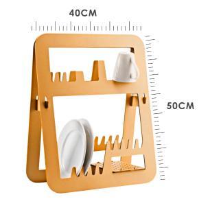 Escorredor de Louça Porta Copos e Pratos | Tam: 40x50cm | Mod: Cook Slim