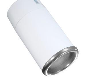 Trilho Eletrificado 1,5m com 5 Spots Soq: GU10 | COR: Branco com Prata | Spot: Led 7W 2.700k Branco Quente | Tam: 1,5 mt | Mod: Z4