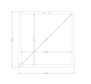 Lustre Conjunto Pendente Geometrico de Madeira na Barra Soq: E27 | Cor: Chocolate | Mod: Geométrico