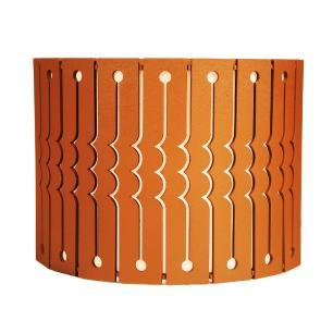 Arandela de Madeira Agnes Caramelo com LED 420 Lúmens / Tam: 20x15cm / Luz: 5.000K