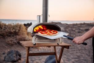 Espátula Perfurada de Alumínio Ooni 35cm para Pizza