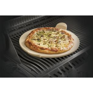 Pedra para Pizza Napoleon com Cortador em Aço Inox