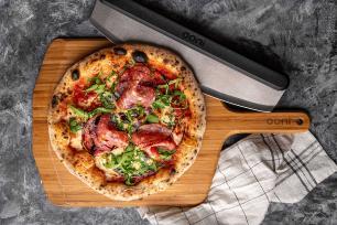 Cortador de Pizza Ooni Rocker Blade 25cm em Aço Inox