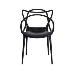 Kit 2 Cadeiras Allegra Preta Sala Cozinha Jantar