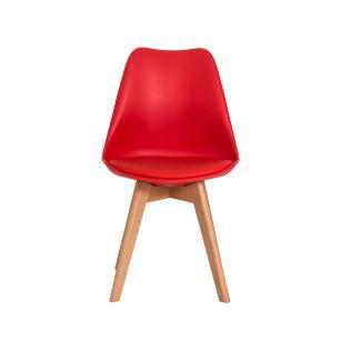 Cadeira Leda Saarinen Design Vermelha