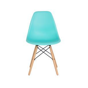 Kit 2 Cadeiras Charles Eames Eiffel Tiffany Base Madeira Sala Cozinha Jantar