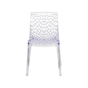 Kit 2 Cadeiras Gruvyer Transparente