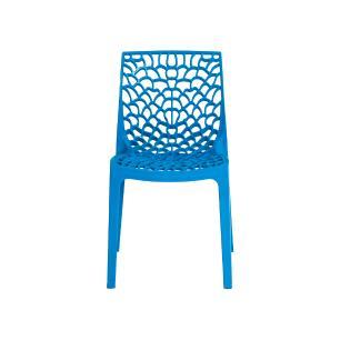 Kit 4 Cadeira Gruvyer Azul