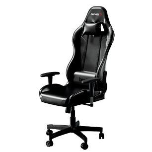 Cadeira Gamer Bunker Preta Pro E-sports Ergonômica Reclinável