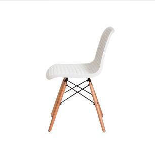 Kit 4 Cadeiras Colméia Branca
