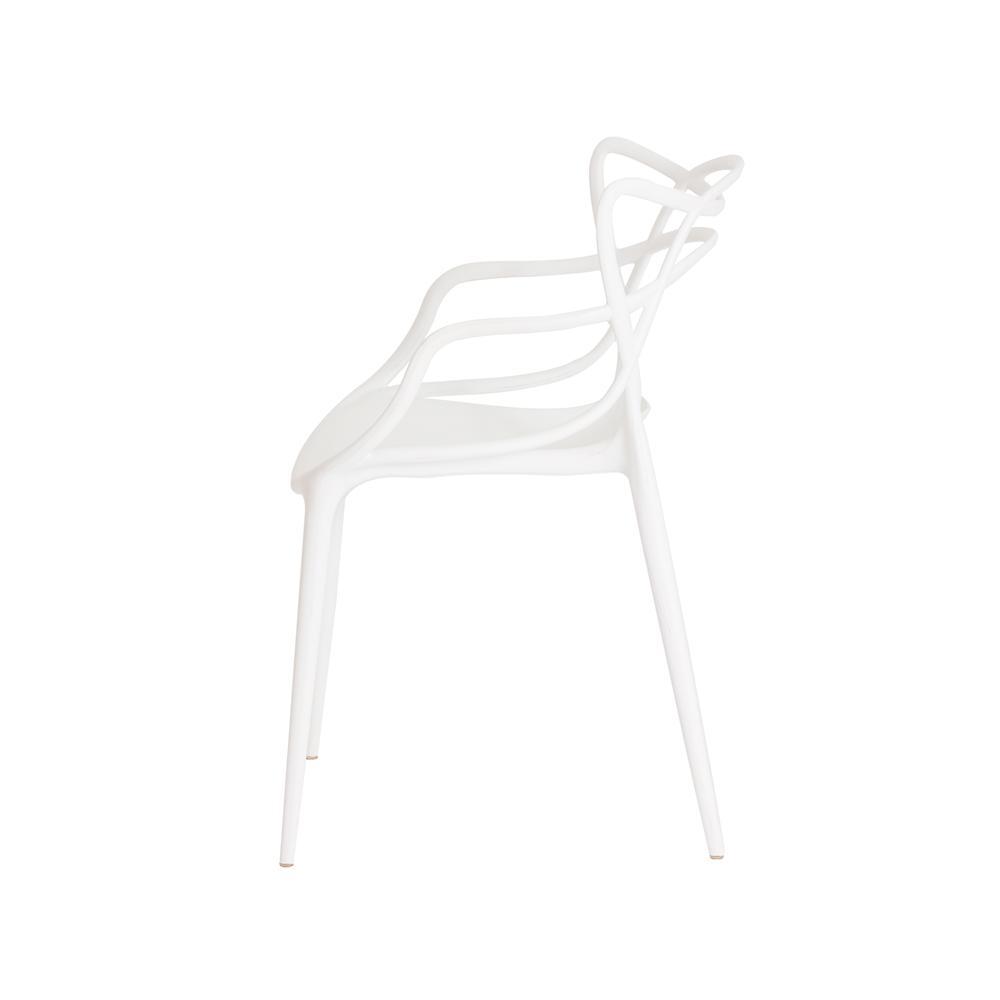 Kit 2 Cadeiras Allegra Branca Sala Cozinha Jantar