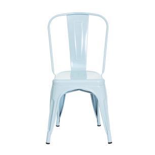 Cadeira Tolix Iron Design Azul Tiffany