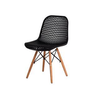 Kit 4 Cadeiras Colméia Preta