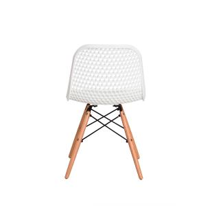 Cadeira Colméia Branca Eloisa Sala Cozinha Jantar