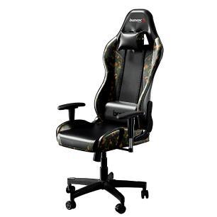 Cadeira Gamer Bunker Camuflada Verde Pro E-sports Ergonômica Reclinável