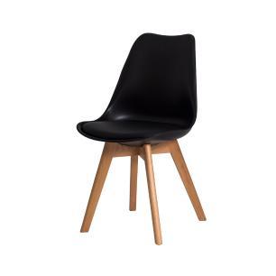 Kit 2 Cadeiras Leda Saarinen Design Preta