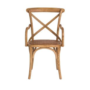 Kit 2 Cadeiras Cross C/braço Betulla