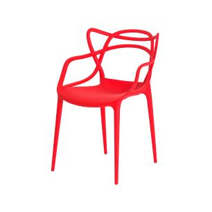 Kit 3 Cadeiras Allegra Vermelha Sala Cozinha Jantar