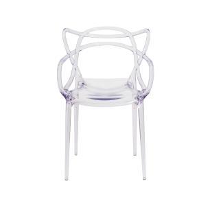 Kit 4 Cadeiras Allegra Transparente