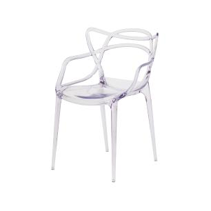 Kit 2 Cadeiras Allegra Transparente