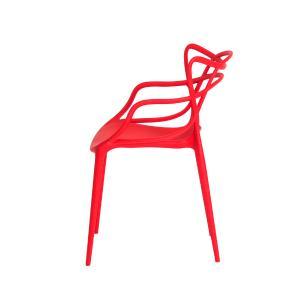 Kit 4 Cadeiras Allegra Vermelha Sala Cozinha Jantar