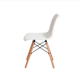 Kit 2 Cadeiras Colméia Branca