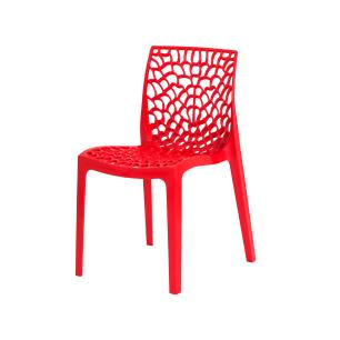 Kit 4 Cadeiras Gruvyer Vermelha Sala Cozinha Jantar