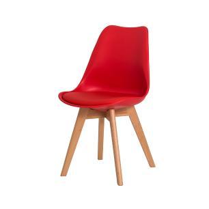 Kit 2 Cadeiras Leda Saarinen Design Vermelha