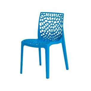 Cadeira Gruvyer Azul Sala Cozinha Jantar