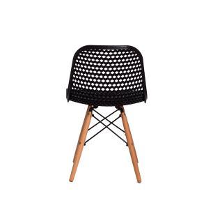 Kit 2 Cadeiras Colméia Preta