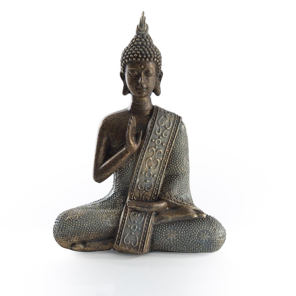 Escultura de  Buda em Resina