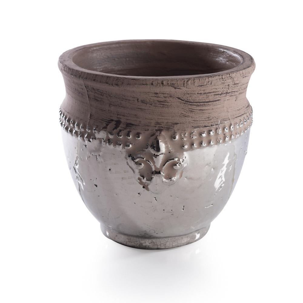 Vaso Decorativo em Cerâmica  Alto