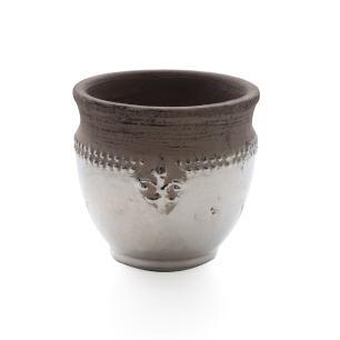 Vaso Decorativo em Cerâmica  Baixo