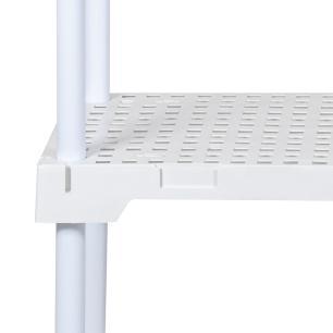 Estante modular multiuso - Organizador - 5 prateleiras